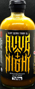 Hurt Berry Farm is Alive at Night Hot Sauce (Hellishly Hot) Limited Reserve 2019