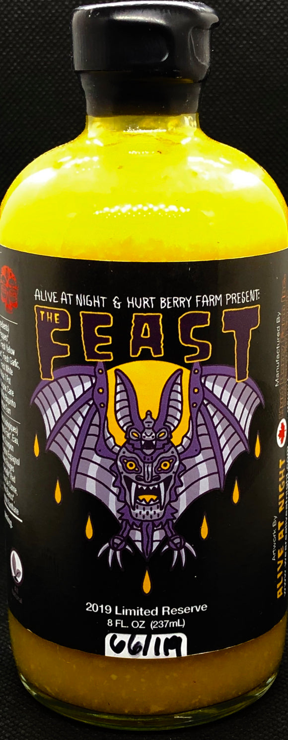 The Feast Hot Sauce (Hellishly Hot) Limited Reserve 2019