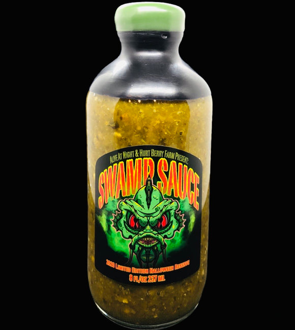 Swamp Sauce- 2020 Halloween Limited Reserve Hot Sauce (Hellishly Hot)