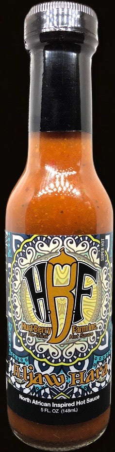 Aljaw Hara - North African Inspired Hot Sauce ( Super Hot)- Limited Edition