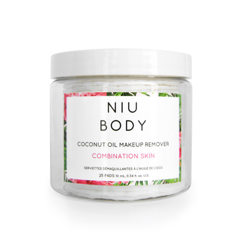 Niu Body Make-Up Removing Wipes - Combination Skin