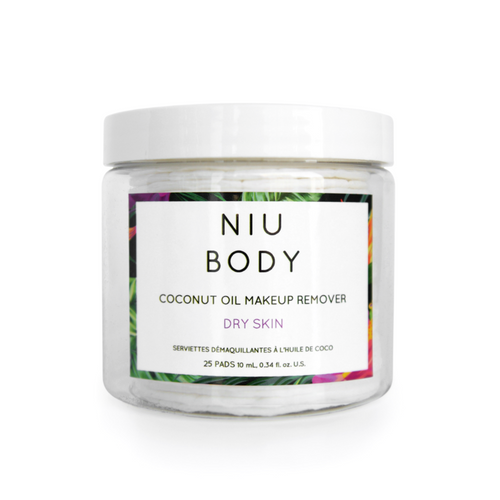 Niu Body Make-Up Removing Wipes - Dry Skin