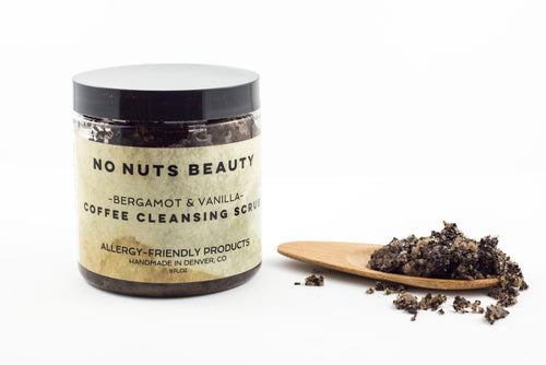 No Nuts Beauty Bergamot & Vanilla Coffee Cleansing Scrub
