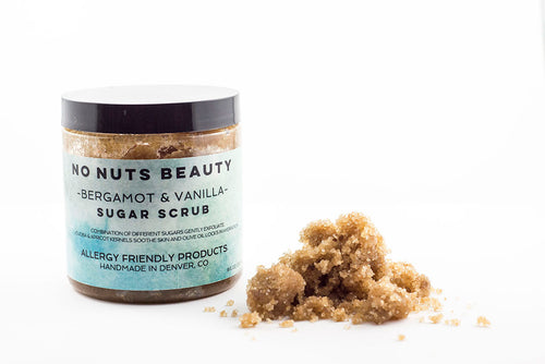 No Nuts Beauty Bergamot & Vanilla Sugar Scrub