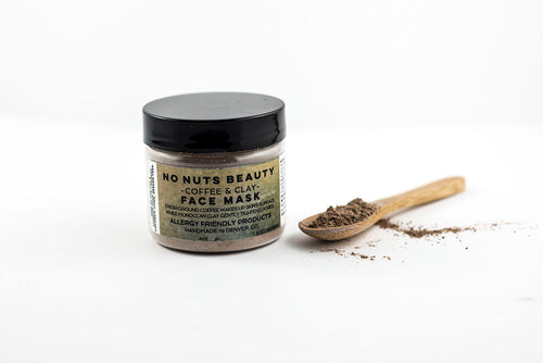 No Nuts Beauty Coffee and Clay Face Mask