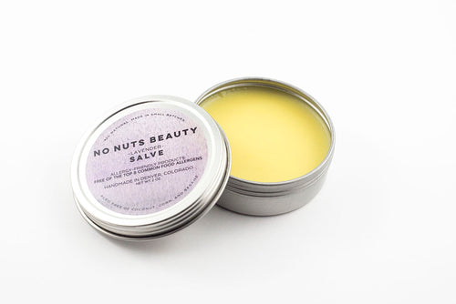 No Nuts Beauty Lavender Salve