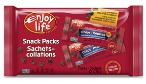 Enjoy Life Dark Chocolate Chips Snack Packs