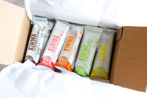 KINWA Bars 15 Pack, Assorted Flavors