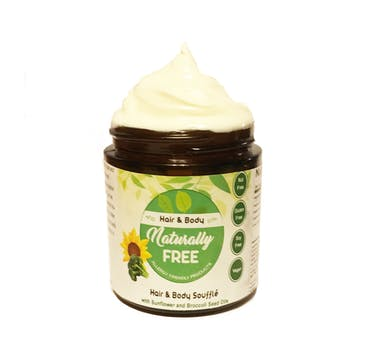 Naturally Free Hair & Body Moisturizer Souffle