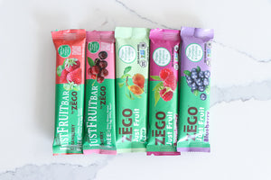 ZEGO Just Fruit Bars 5 Pack