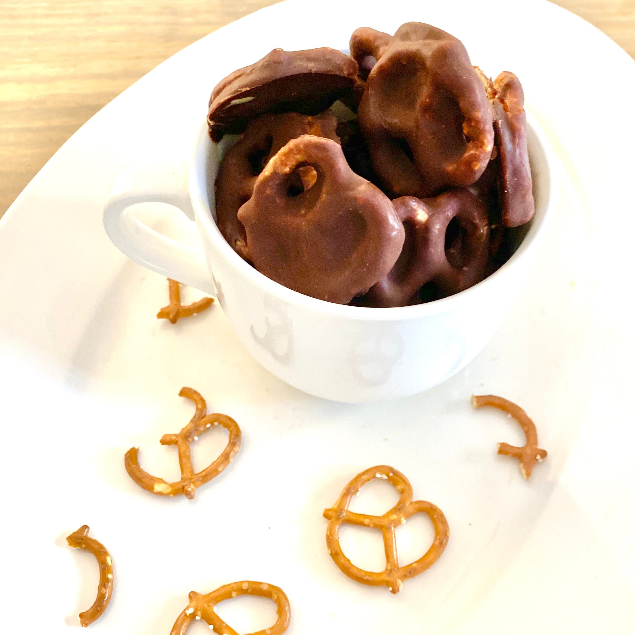 nudefood PB Chocolate Covered Pretzels