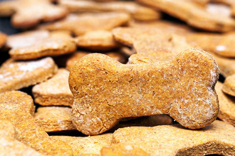 Healthy Homemade Peanut Butter Dog Biscuits