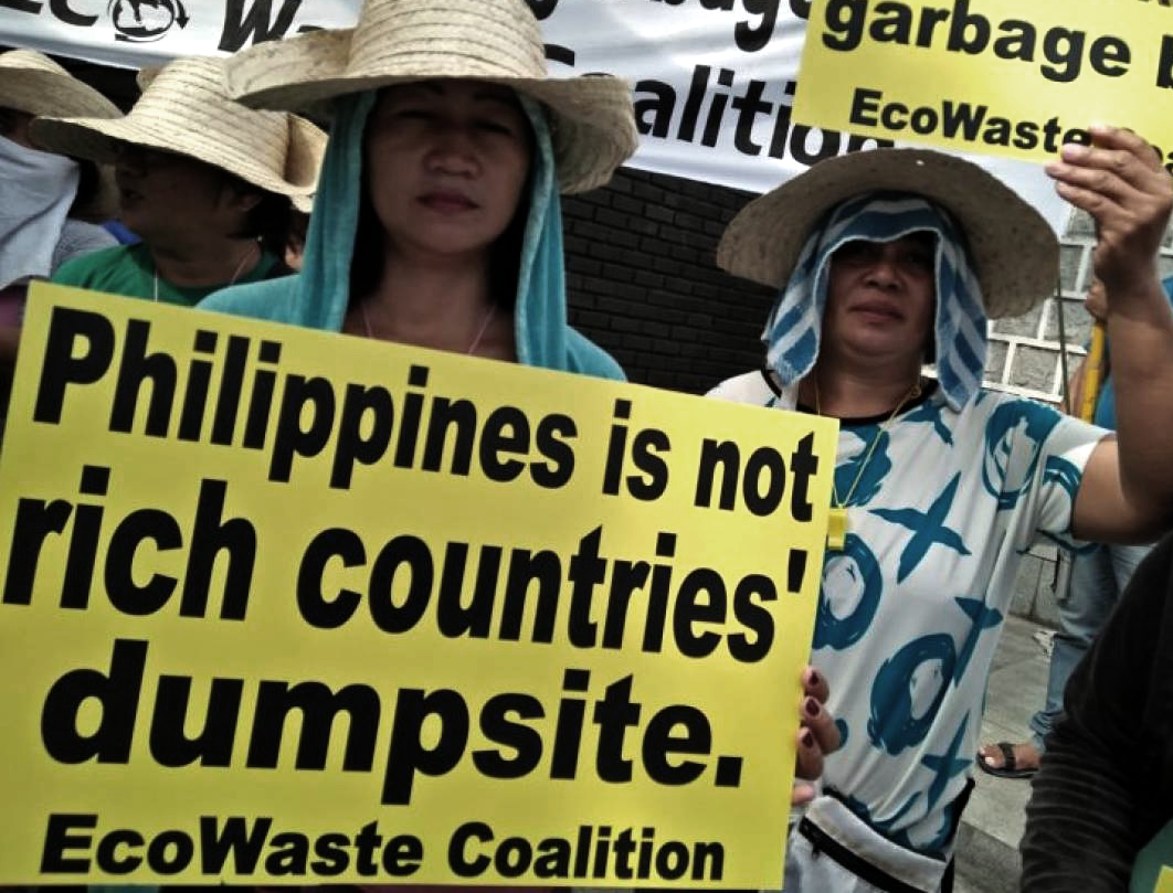 trash in philippines