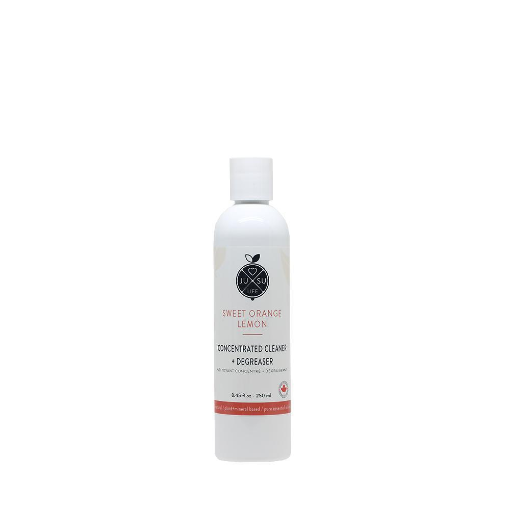 Concentrated Cleaner + Degreaser - Jusu Life This concentrated product has a d'limonene base.