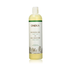 Cedar & Sage Shower Gel - Oneka