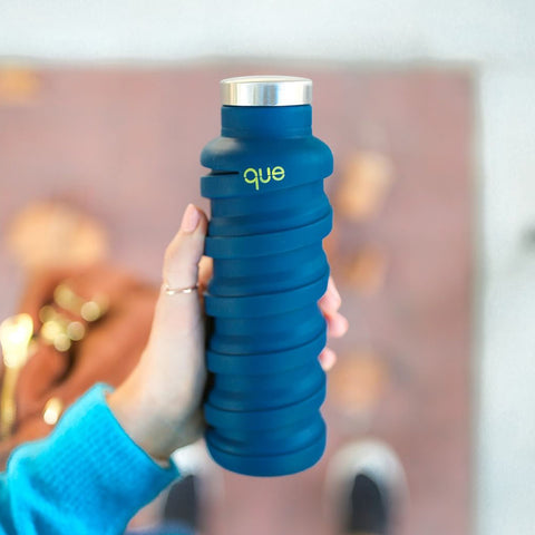 que bottle - blue 2.0