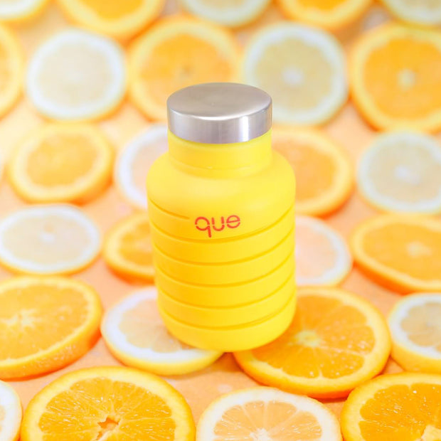 que bottle - Yellow