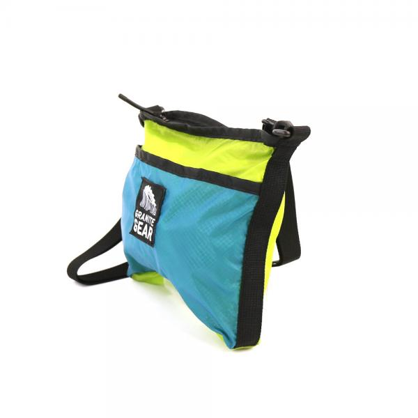 Granite Gear Hiker Satchel - Lemon lime/ Blueberry
