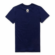 穿上Vast,衝去淨灘|Gradient Front T-shirt -  Blueberry