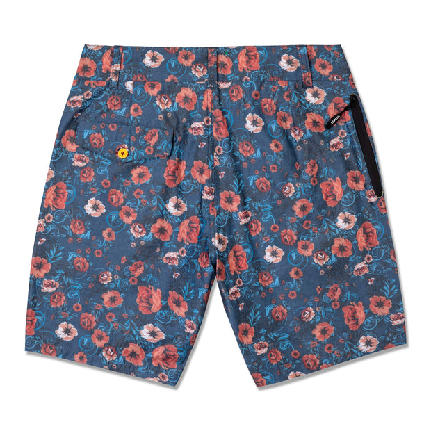 Vast Wild Rose Walkshorts