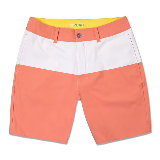 Creamsicle Walkshorts - Coral