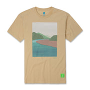 Vast River Tee - Tan