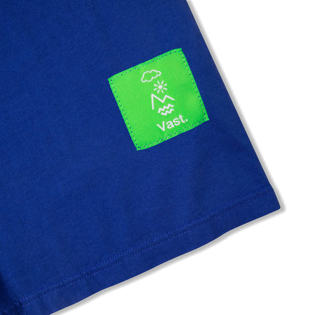 Vast Climate Change Tee - Blue