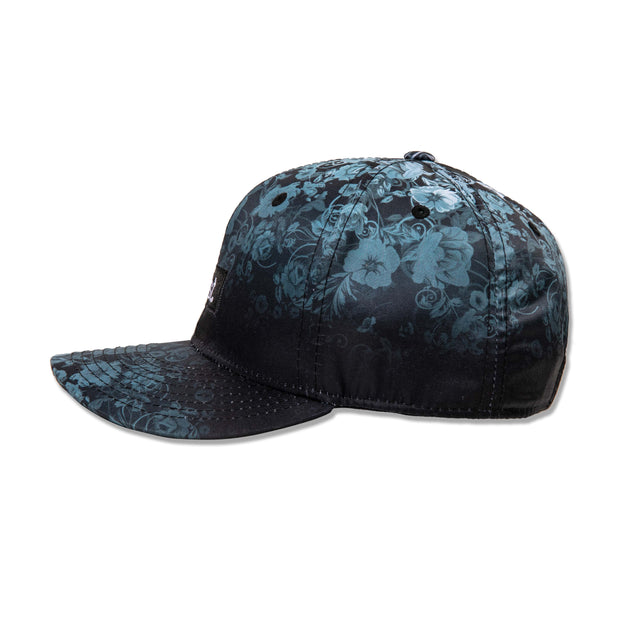 Black Flora Dad Hat
