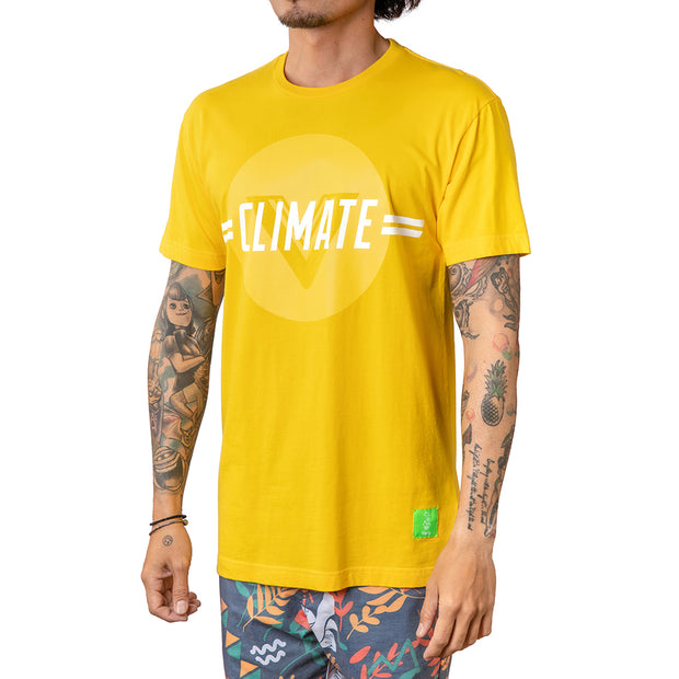 Climate Change Tee - Yellow