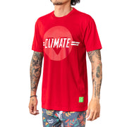 Vast Climate Change Tee - Red