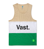 Vast Color Block Tank - Tan