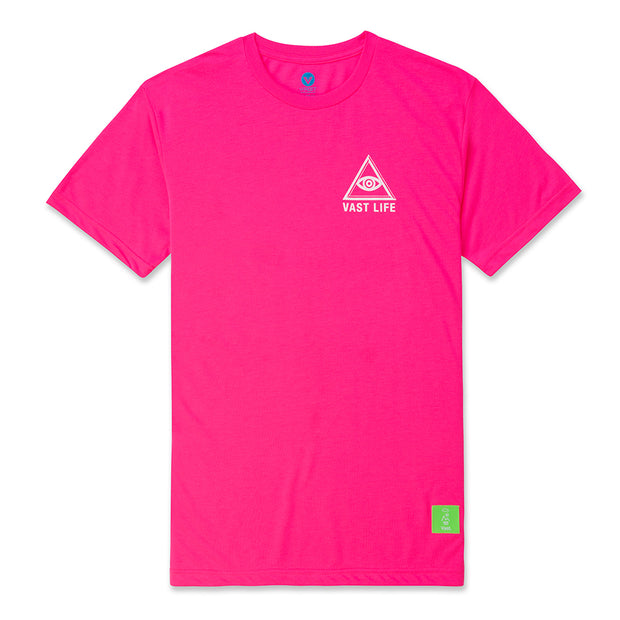 All Seeing Eye Tee - Pink