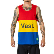 Vast Color Block Tank - Red