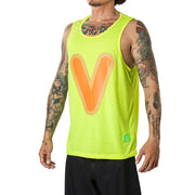 "Vast Bubble ""V"" Tank Top - Yellow"