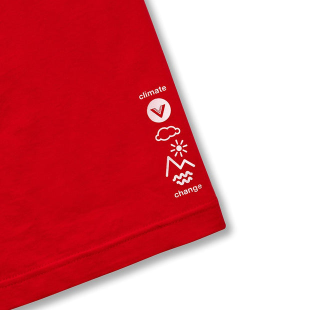 Vast Logo Tee - Red
