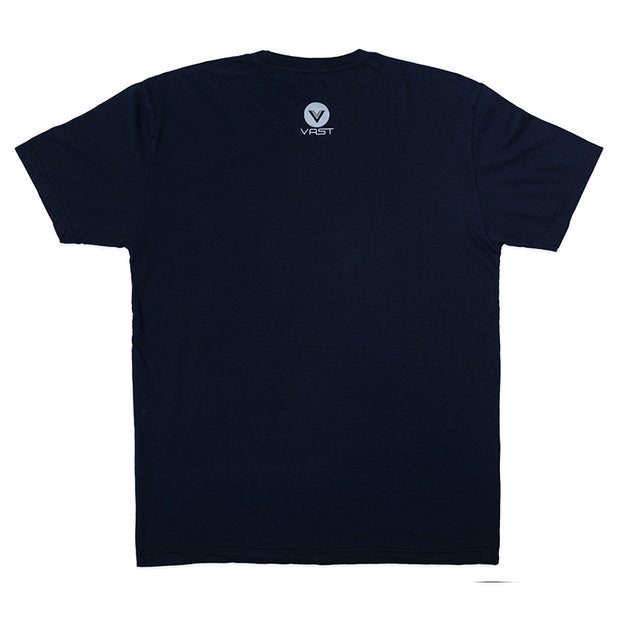 Vast Tropical Tribal Tee - Navy blue