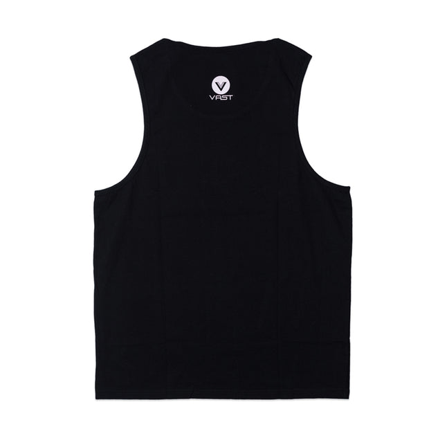 HISBISCUS FOLIAGE TANK - BLACK