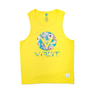 HISBISCUS FOLIAGE TANK - YELLOW