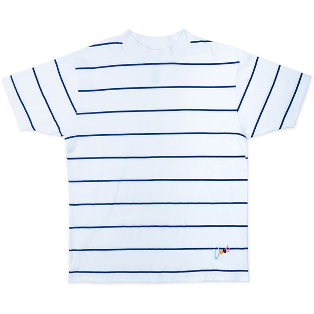 Vast Turtle Neck Stripe Tee