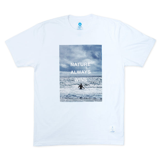 穿上Vast,衝去淨灘|Vast Naw Photo 2 Tee - White