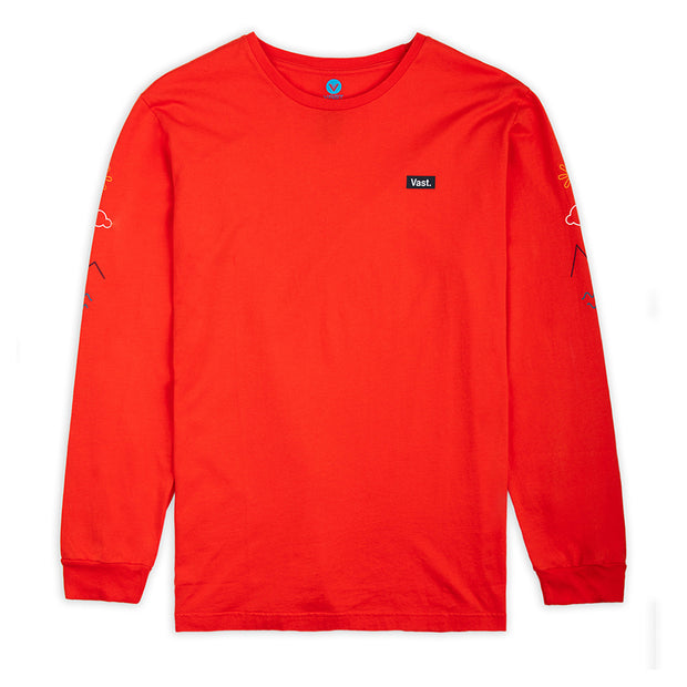 Vast Elements Long sleeve - Red