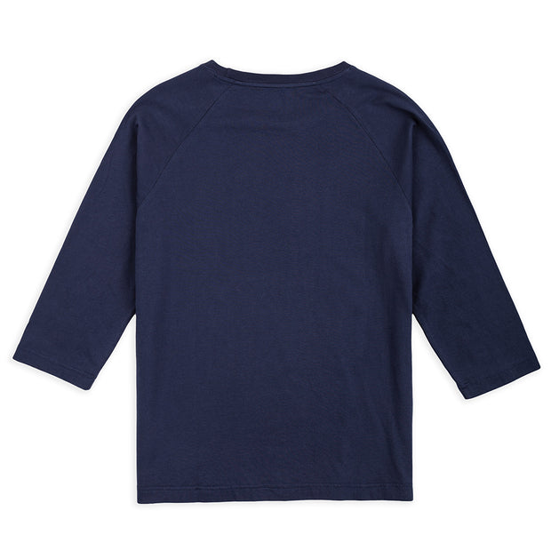 Vast Quarter Sleeve Tee - Blue