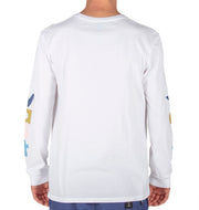 VAST Lower Case Long Sleeve - White