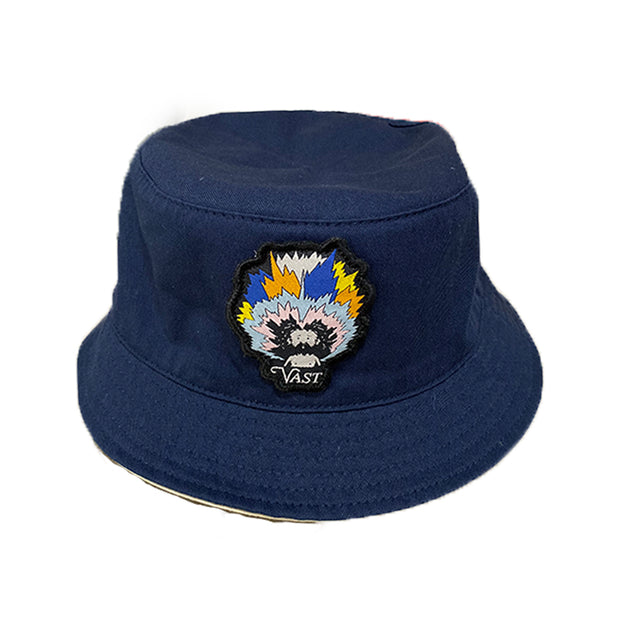 Vast Reversible Bucket Hat Navy/Khaki
