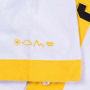 Vast Canary Baseball Jersey