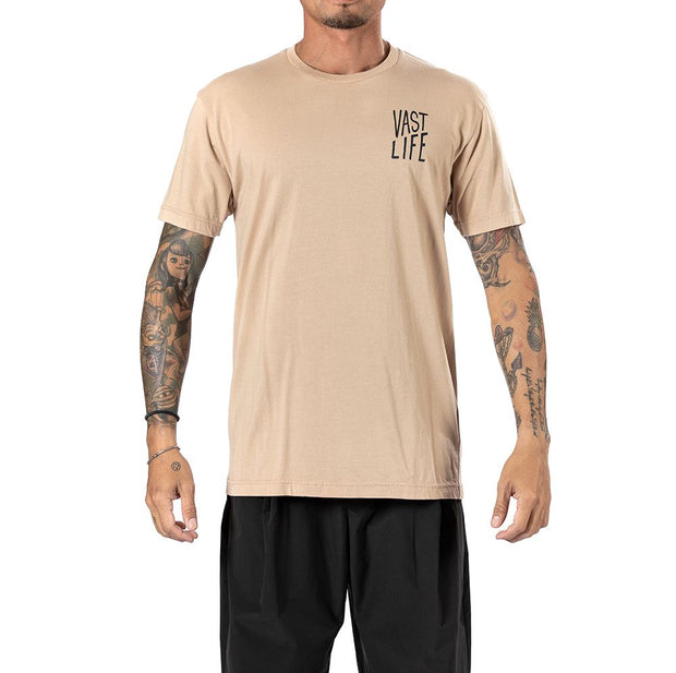 Vast Ascend Tee - Hazelnut