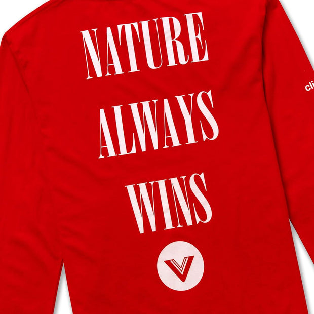 Vast Thundercloud L/S Tee - Red