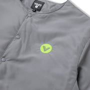 Vast No Collar Puffy Jacket - Charcoal