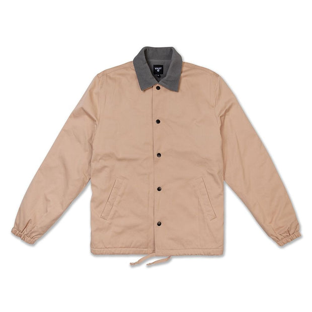 Vast Sherpa Lined Jacket - Hazelnut