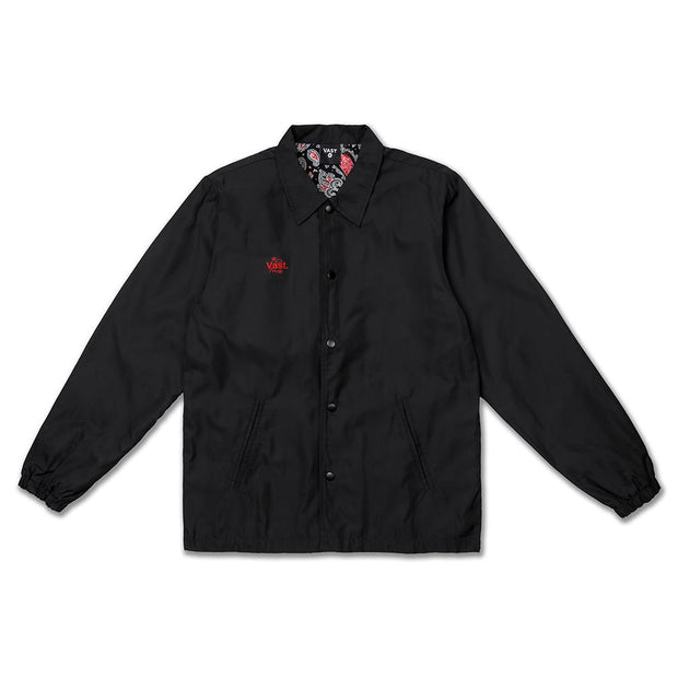 VAST Coaches Jacket - BLACK